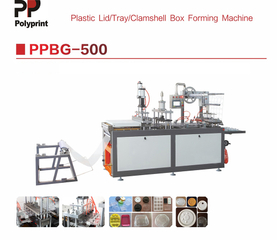 Disposable Plastic Food Box Container Tray Forming Making Machine/Automatic Cup Lid Thermoforming Machine
