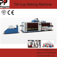 Technical PP/PS Plastic Cup Food Bowl Container Thermoforming Forming Machine with Tilt Mould