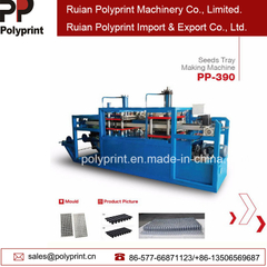 Automatic PP PVC PS Pet Seeds Tray Thermoforming Machine