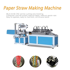 Technical Eco-Friendly Drink Water Milk Coffee Cup Paper Straw Forming Making Machine